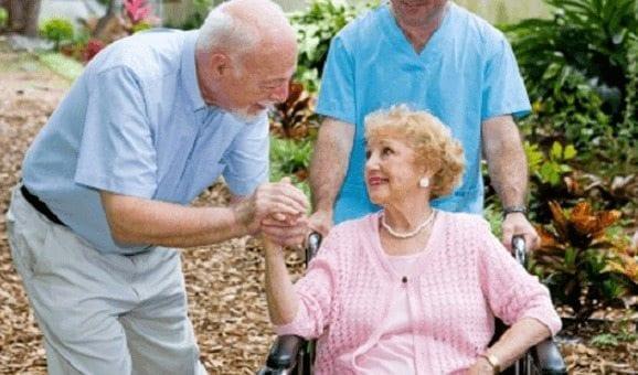 Familiares de los pacientes de Parkinson