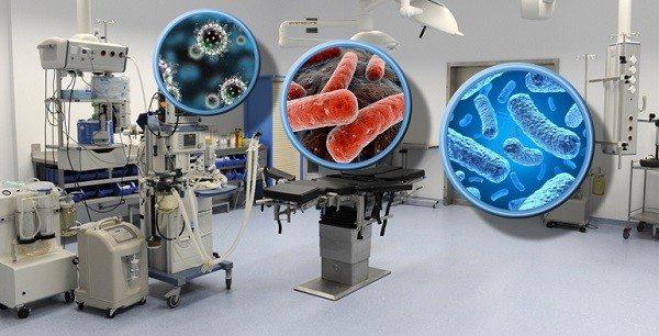 Bacterias en Hospitales