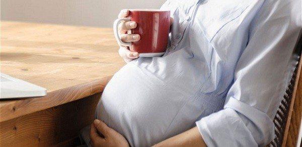 Cafeína es seguro durante el Embarazo