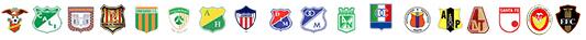 Equipos asociados a la Dimayor, Grupo A