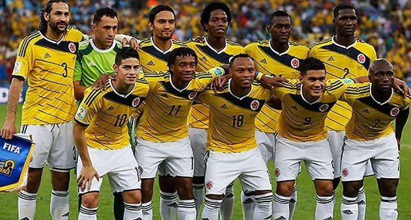 Selección Colombia - Mundial Brasil