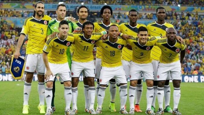 Selección Colombia Mundial de Brasil