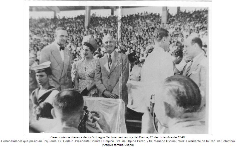 Historia del atletismo en Colombia 1946
