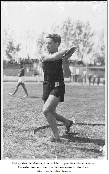 Historia del atletismo Manuel Usano