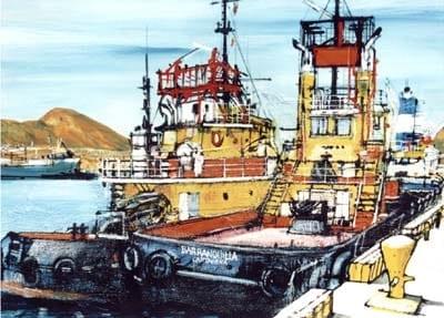 Obra Puerto de Santa Marta - German Tessarolo
