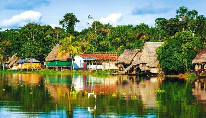 Departamento del Amazonas,Características,Geografía,Destinos,Turismo