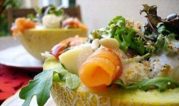 ensalada-de-melon-con-pollo