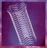 Stent, malla cilíndrica rígida
