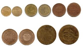 Segunda emisión de monedas (1904 – 1909)