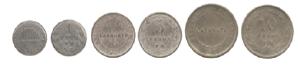 Tercera emisión de monedas (1918 – 1921)