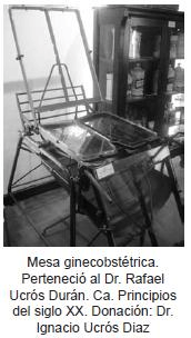 Mesa ginecobstetrica