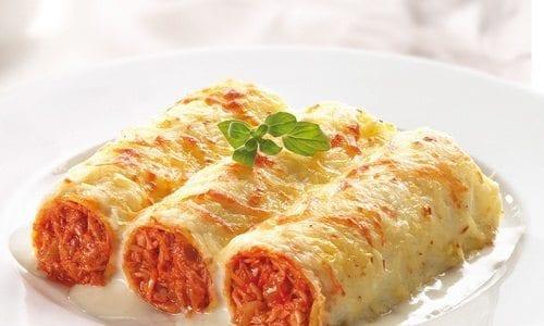 Canelones de at n recetas con pasta recetas f ciles for Canelones de pescado y marisco