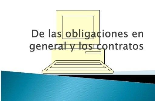 Obligaciones en General y de los Contratos