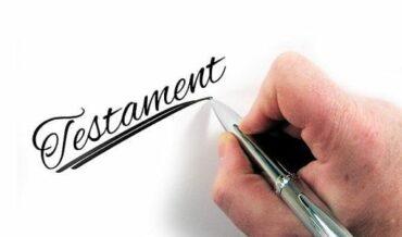 De la Ordenación del Testamento