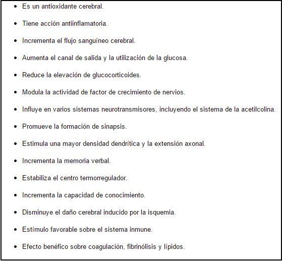 Efectos de los estrógenos sobre el sistema nervioso central
