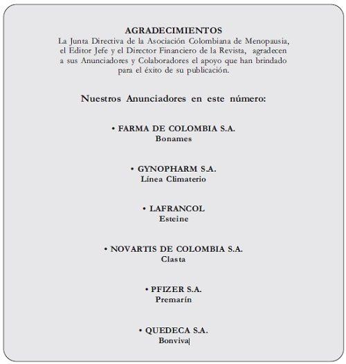 Agradecimientos Volumen 174