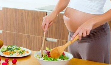 Alimentación recomendada en gestantes