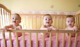 Bebés en la cuna