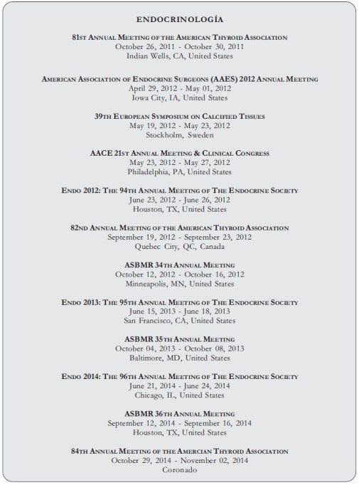Congreso Endocrinología de Menopausia