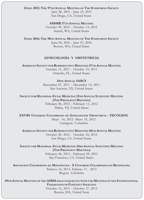 Congreso Endocrinología de Menopausia 1