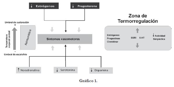 Síntomas Vasomotores del síndrome climatérico