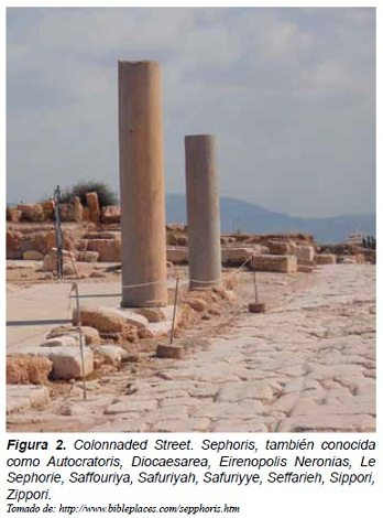 Colonnaded Street, Sephoris