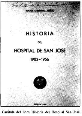 Caratula libro Historia Hospital San José