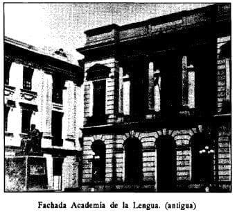 Fachada Academia de lengua