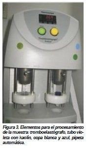 Elementos para el procesamiento de la muestra