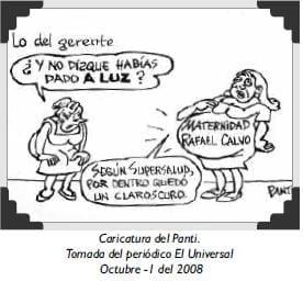 Caricatura del Panti.