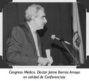 Congreso Médico. Doctor Jaime Barrios Amaya