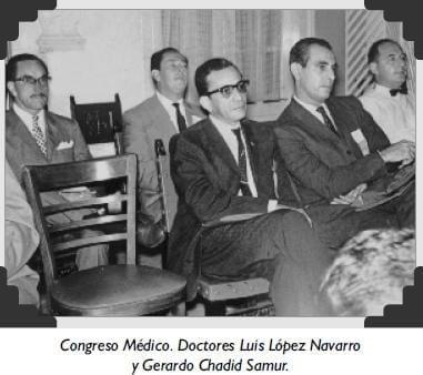 Congreso Médico. Doctores Luis López Navarro