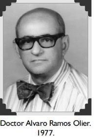 Doctor Alvaro Ramos Olier.1977