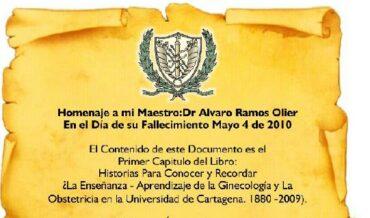 Homenaje al Dr. Álvaro Ramos Olier