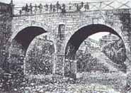 Puente de Colón sobre el río San Agustín