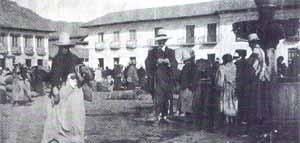 Libertador en la Plaza de Bolívar