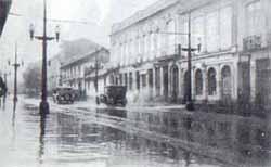 Carrera Séptima en 1928