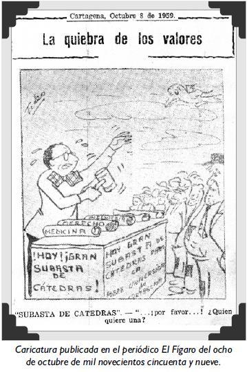 Caricatura publicada en el periódico El Fígaro