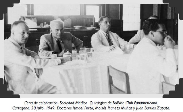 Cena de celebración. Sociedad Médico Quirúrgica