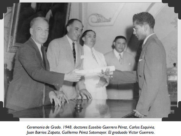 Ceremonia de Grado. 1948