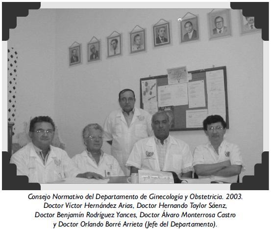 Consejo Normativo del Departamento de Ginecología