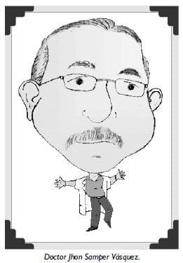 Doctor Jhon Samper Vásquez.