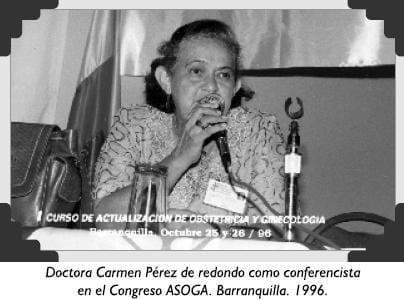 Doctora Carmen Pérez de redondo