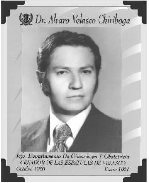 Dr Alvaro Velasco Chiriboga