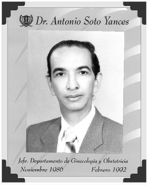 Dr Antonio Soto Yances