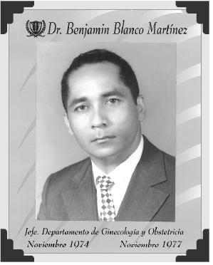 Dr Benjamín Blanco Martínez
