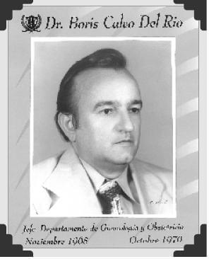 Dr Boris Calvo del Rio