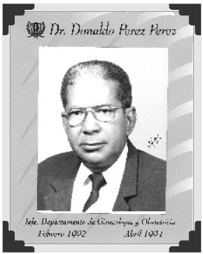 Dr Donaldo Perez Perez