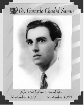 Dr Gerardo chadid