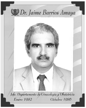 Dr Jaime Barrios Amaya